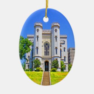 gobernador viejo Baton Rouge de la mansión del cap Ornaments Para Arbol De Navidad