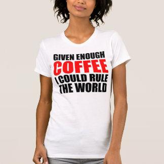 Gobernaré el mundo, con café playera