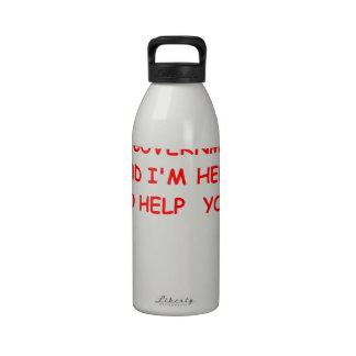 gobierno botella de agua