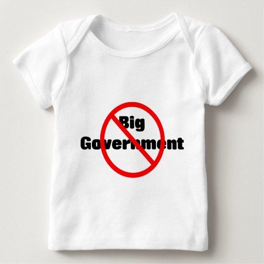 Gobierno Anti-Grande Playera De Bebé