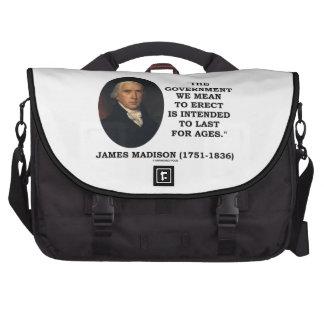 Gobierno de James Madison que significamos erigir Bolsas De Portátil