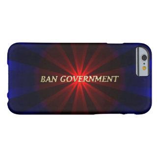 Gobierno de la prohibición funda barely there iPhone 6