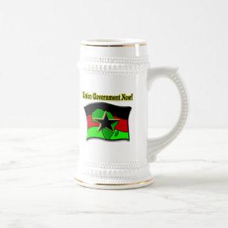 ¡Gobierno de la unión ahora! Jarra De Cerveza