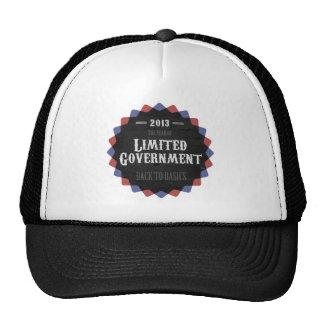 Gobierno limitado 2013 gorros