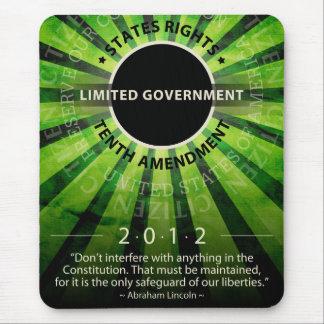 Gobierno limitado mouse pads