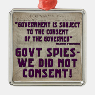 Gobierno no consentimos ornamentos de navidad