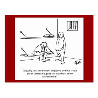 Gobierno/postal política del humor postal