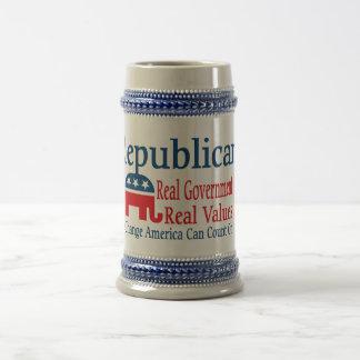 Gobierno real jarra de cerveza