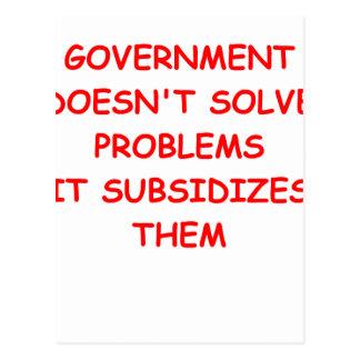 gobierno postal
