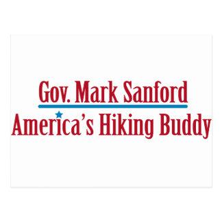 Gobiernos Marque a Sanford Tarjeta Postal
