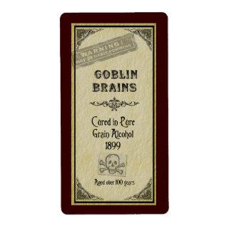 Gobin Brains Avery Label