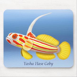 Gobio Mousepad del camarón de Yasha Hase