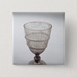 Goblet by Jacopo Verzelini, 1586 Pinback Button