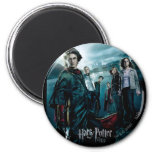 Goblet of Fire - French 4 2 Inch Round Magnet