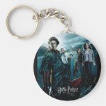 Goblet of Fire - French 4 Basic Round Button Keychain