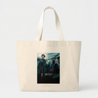 Goblet of Fire - French 4 Large Tote Bag