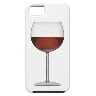 Goblet Of Red Wine Art - iPhone 5 Case