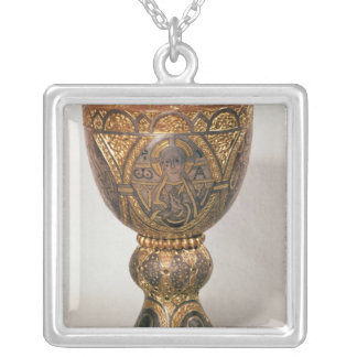 Goblet, pillaged from Turkey Silver Plated Necklace