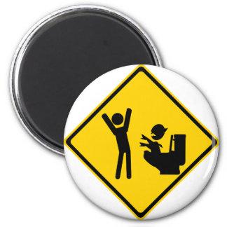 Goblin 1 del impulso de la señal de tráfico iman de frigorífico