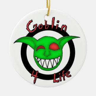Goblin 4 Life Ceramic Ornament