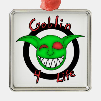 Goblin 4 Life Metal Ornament