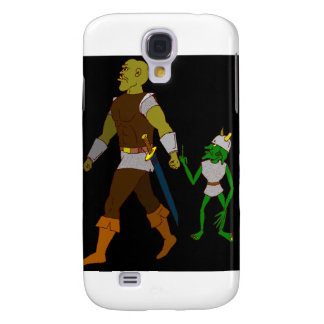 Goblin and Orc (black or white background) Galaxy S4 Cover