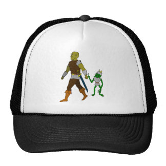Goblin and Orc (black or white background) Trucker Hat