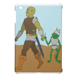 Goblin and Orc (landscape) Cover For The iPad Mini