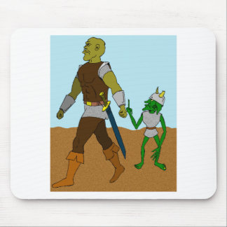 Goblin and Orc (landscape) Mouse Pad