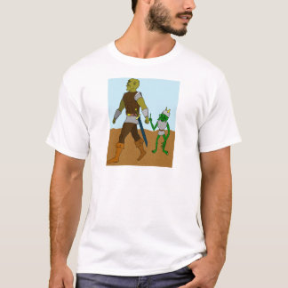 Goblin and Orc (landscape) T-Shirt