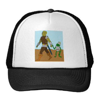 Goblin and Orc (landscape) Trucker Hat