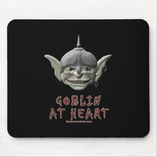 Goblin at Heart Mouse Pad