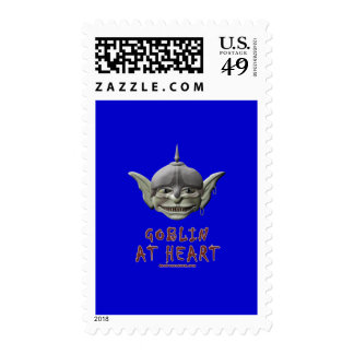 Goblin at Heart Postage Stamps