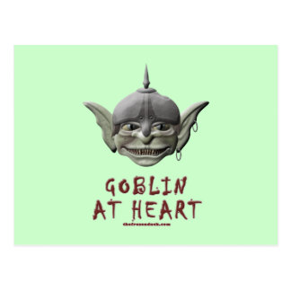 Goblin at Heart Postcard
