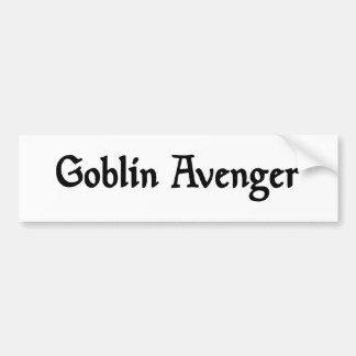 Goblin Avenger Bumper Sticker