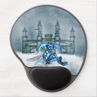 Goblin azul alfombrilla de raton con gel