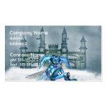 Goblin azul tarjeta de negocio