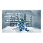 Goblin azul tarjetas personales