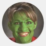 Goblin de Palin Pegatina Redonda