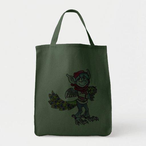 Goblin del pavo real bolsas
