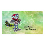 Goblin del pavo real tarjetas de visita