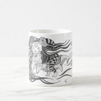Goblin Dog Fish, Dare to Dream Coffee Mug
