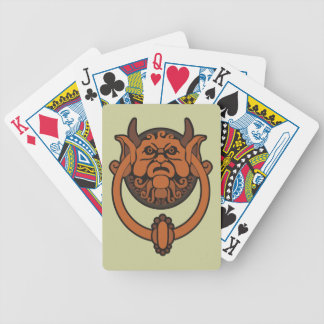 Goblin Door Knocker Bicycle Playing Cards