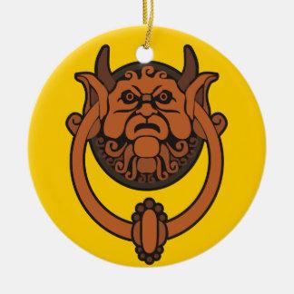 Goblin Door Knocker Ceramic Ornament