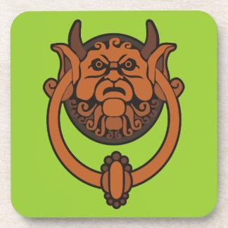 Goblin Door Knocker Drink Coaster