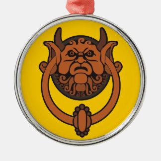 Goblin Door Knocker Metal Ornament