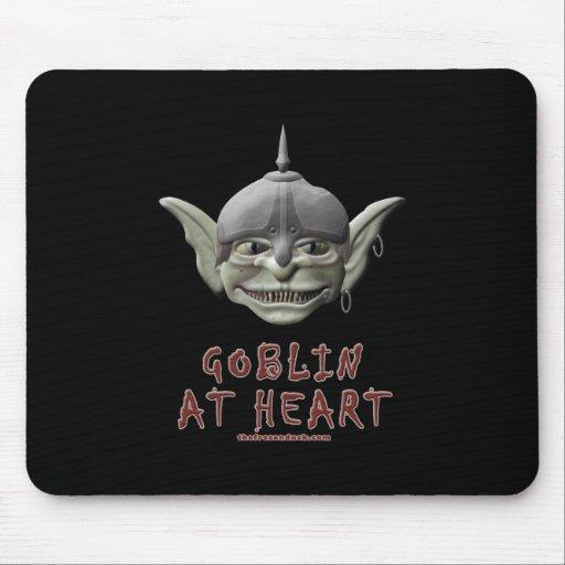 Goblin en el corazón tapetes de ratones