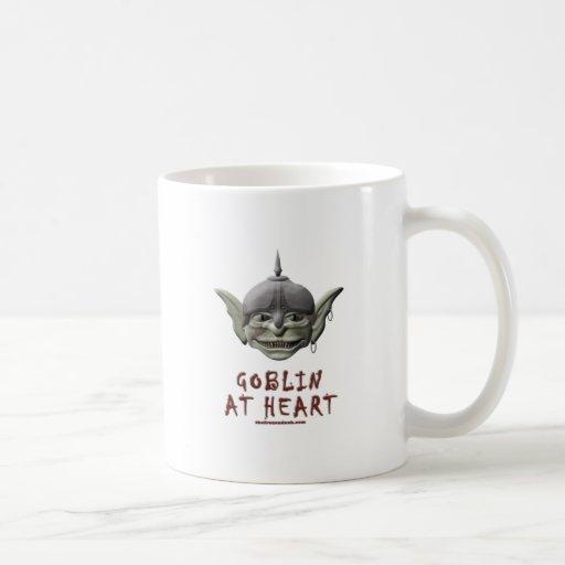 Goblin en el corazón taza