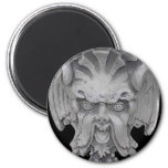Goblin Face Products Fridge Magnets