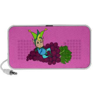 Goblin gordo lindo iPod altavoces